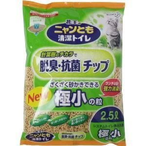ニャンとも清潔トイレ 脱臭・抗菌チップ 極小の粒 2.5L matsuda88