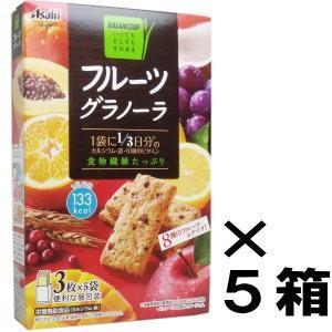 バランスアップ フルーツグラノーラ 3枚×5袋...の関連商品5