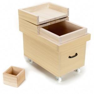 松田桐箱 桐の米びつ(こめびつ) 5kg