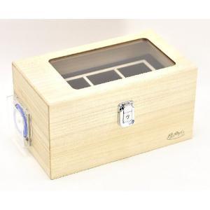 松田桐箱 ワインディングマシーン 時のゆりかご桐無垢本体 自動巻腕時計用ワインダー