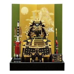 高級鎧飾り 6号青龍大鎧二曲飾り 甲冑師一龍作 m22