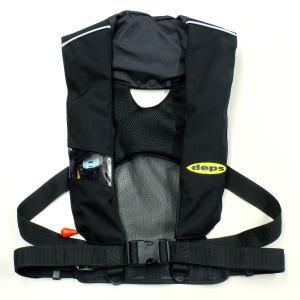 デプス オートインフレータブル・ライフジャケット DPS−2220RS /deps Auto Inflatable PFD matsumoto
