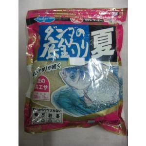 マルキュー ダンゴの底釣り夏|matsumoto