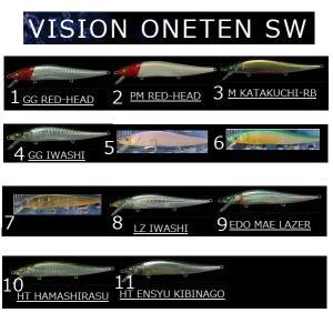 メガバス ビジョン ワンテン 110SW  VISION ONETEN 110SW|matsumoto