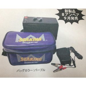 シーキング 12V8AH バッテリー|matsumoto