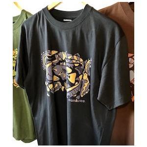 サムルアーズ 20周年記念オリジナルTee Tシャツ  カラー:ブラック   前面のプリントに登場す...