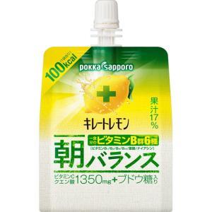 ポッカコーポレーション キレートレモン 朝バランスゼリー 180g