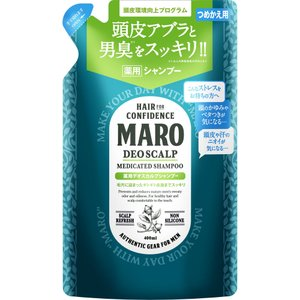 ストーリア MARO 薬用デオスカルプシャンプー 詰め替え 400ml (医薬部外品)