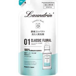 パネス ランドリン 洗剤 クラシックフローラル 詰替 360g|matsumotokiyoshi