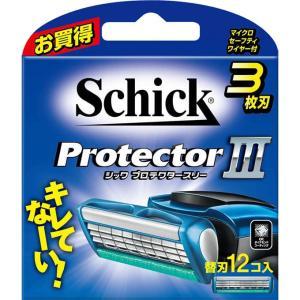 シック・ジャパン シック プロテクタースリー 替刃12個入