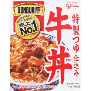 江崎グリコ DONBURI亭「牛丼」 160gの商品画像