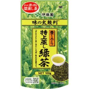 伊藤園 味の太鼓判 特上蒸し緑茶 100g