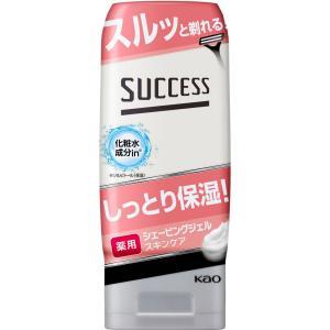 花王 サクセス 薬用シェービングジェル スキンケアタイプ 180g (医薬部外品)|matsumotokiyoshi