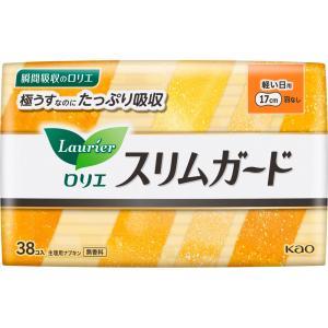花王 ロリエ スリムガード 軽い日用 38コ(医薬部外品)