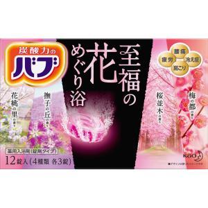 花王 バブ 至福の花めぐり浴 12錠 (医薬部外品)