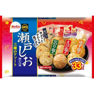 栗山米菓 F瀬戸の汐揚アソート 33枚の関連商品1