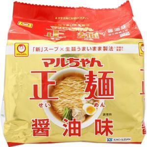 東洋水産 マルちゃん正麺 醤油味 105g×5|matsumotokiyoshi