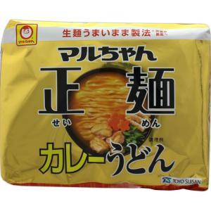 東洋水産 マルちゃん正麺 カレーうどん 95g×5