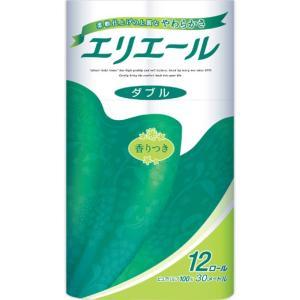 大王製紙 エリエール トイレットティシュー 12R ダブル|matsumotokiyoshi
