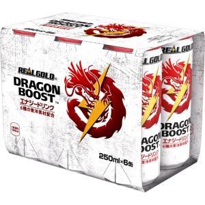 日本コカ・コーラ リアルゴールド ドラゴンブースト マルチパック 250ml×6