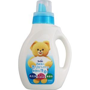 ニッサン石鹸 ファーファ液体洗剤 香りひきたつ無香料 本体 1.0kg