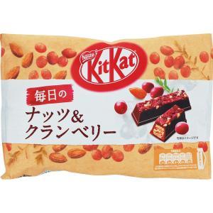 ネスレ日本 キットカット 毎日のナッツ&クランベリー 109g