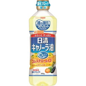 日清オイリオグループ MKG 日清キャノーラ油 600g