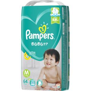 P&Gジャパン パンパースさらさらケアテープ スーパージャンボ M 64枚