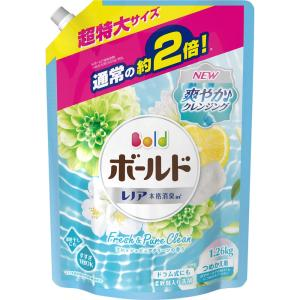 P&Gジャパン ボールド プラチナクリーン プラチナピュアクリーンの香り(つめかえ用) 超特大サイズ 1260g