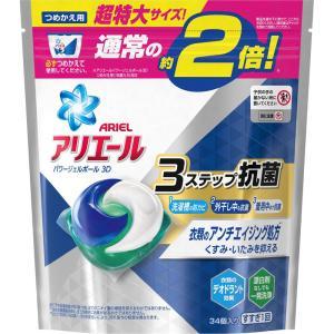 P&Gジャパン アリエールパワージェルボール3D詰替 特大 34個|matsumotokiyoshi