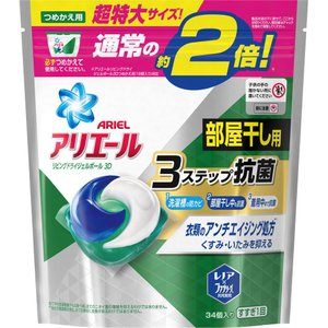 P&Gジャパン アリエールリビングドライジェルボール3D詰替 特大 34個|matsumotokiyoshi