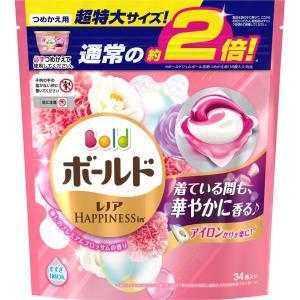 P&Gジャパン ボールドジェルボール3D癒しのプレミアムブロッサム詰替 超特大 34個|matsumotokiyoshi