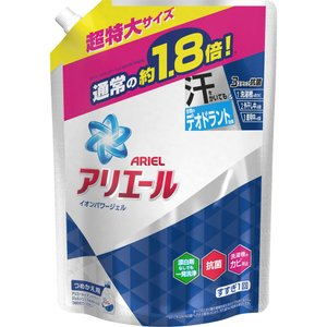 P&Gジャパン アリエールイオンパワージェルサイエンスプラス 詰替 特大 1260g|matsumotokiyoshi