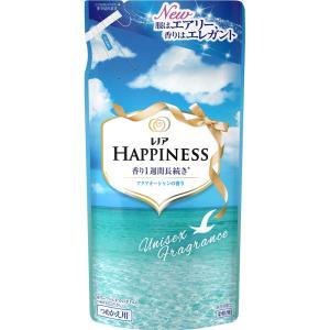 P&Gジャパン レノア ハピネス 柔軟剤 ユニセックスシリーズ アクアオーシャンの香り 詰め替え 400ml|matsumotokiyoshi
