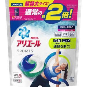 P&Gジャパン アリエール 洗濯洗剤 ジェルボール3D プラチナスポーツ 詰め替え 超特大 26個|matsumotokiyoshi