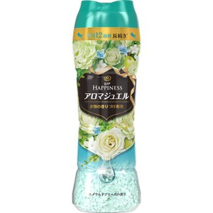 P&Gジャパン レノア ハピネス 香り付け専用ビーズ アロマジュエル エメラルドブリーズの香り 本体 520ml|matsumotokiyoshi