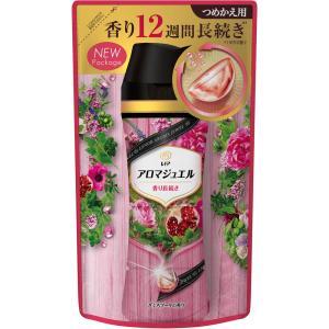 P&Gジャパン レノア ハピネス 香り付け専用ビーズ アロマジュエル ざくろブーケの香り 詰め替え 455ml|matsumotokiyoshi