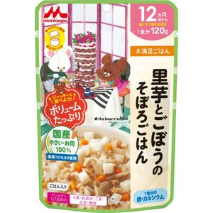 森永乳業 大満足ごはん 里芋とごぼうのそぼろごはん 120g