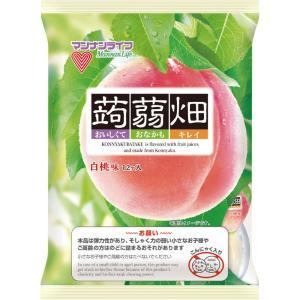 マンナンライフ 蒟蒻畑 白桃味 25g×12
