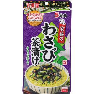 丸美屋食品工業 家族のわさび茶漬け 31g