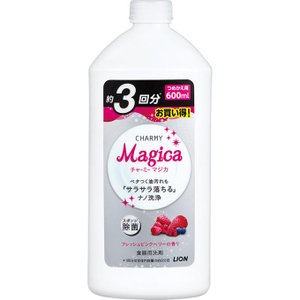 ライオン CHARMY Magica フレッシュピンクベリーの香り つめかえ用 600ml