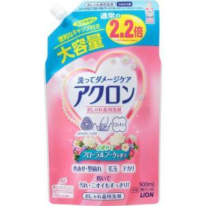 ライオン アクロン フローラルブーケの香り つめかえ用大 900ml|matsumotokiyoshi