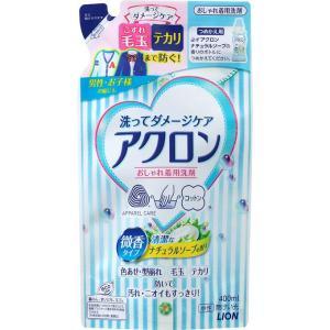 ライオン アクロンナチュラルソープの香りつめかえ用 400ml matsumotokiyoshi