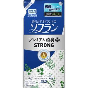 ライオン 香りソフラン プレミアム消臭+STRONG フレッシュブリーズアロマの香り つめかえ用 450ml matsumotokiyoshi