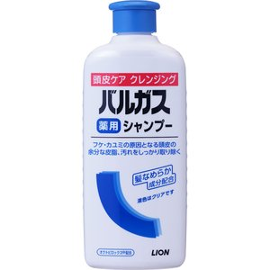 ライオン バルガス 薬用シャンプー 200ml (医薬部外品)|matsumotokiyoshi