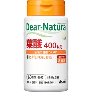 アサヒグループ食品株式会社 Dear−Natura 葉酸 60粒...