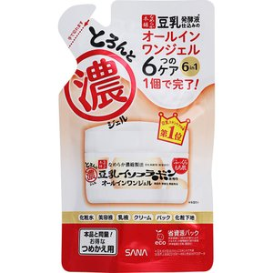 常盤薬品工業 サナ なめらか本舗 とろんと濃ジェル(つめかえ用) 100g|matsumotokiyoshi