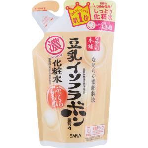 常盤薬品工業 サナ なめらか本舗 しっとり化粧水 NA(つめかえ用) 180ml|matsumotokiyoshi