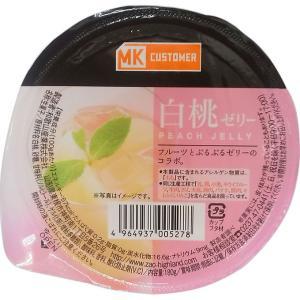 和歌山産業 白桃ゼリー 180g
