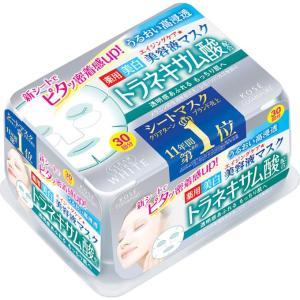コーセー クリアターン エッセンスマスク(トラネキサム酸) 30回分 (医薬部外品)|matsumotokiyoshi
